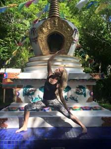 Shake your Buddha yoga pants