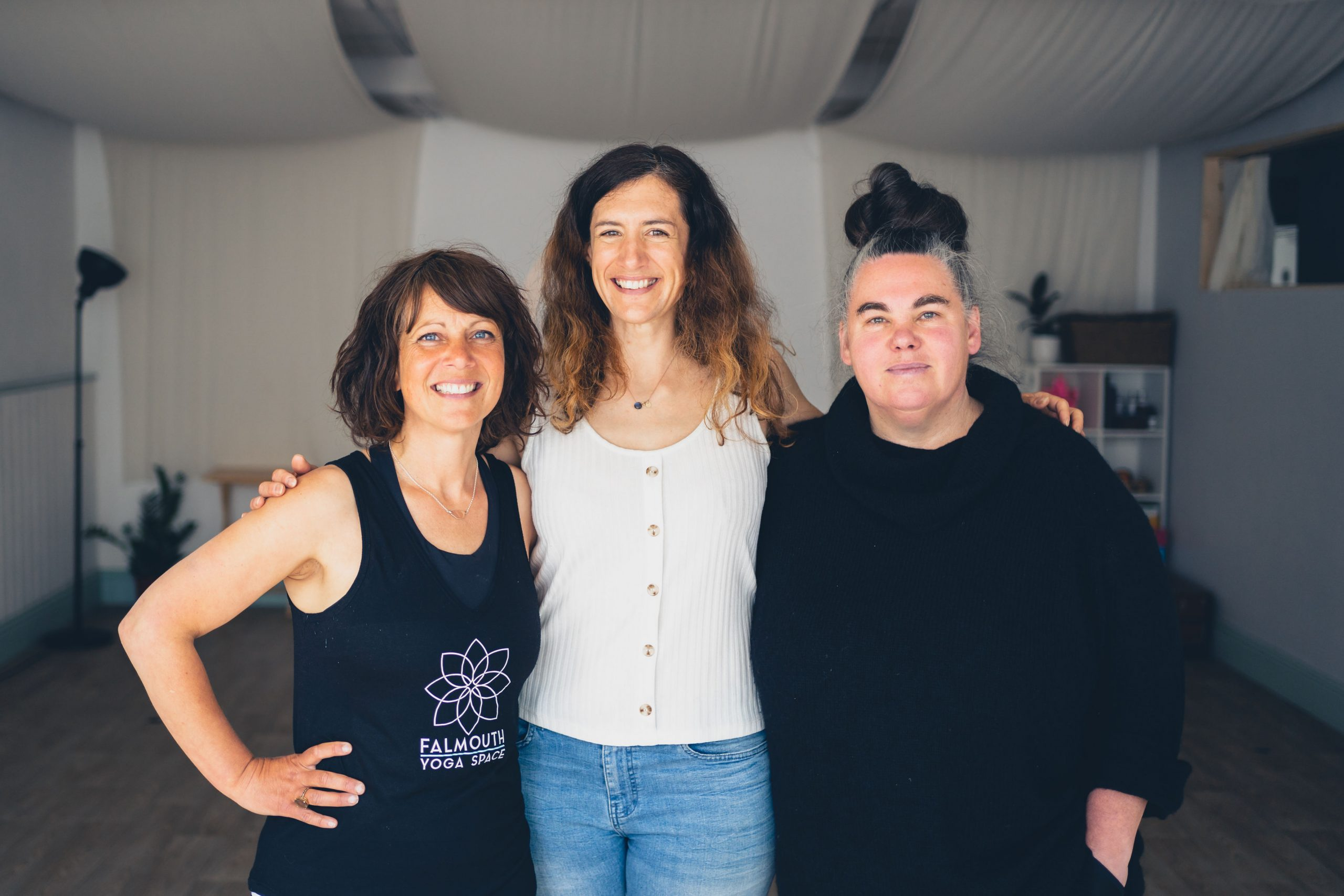 Yoga teachers Falmouth Cornwall